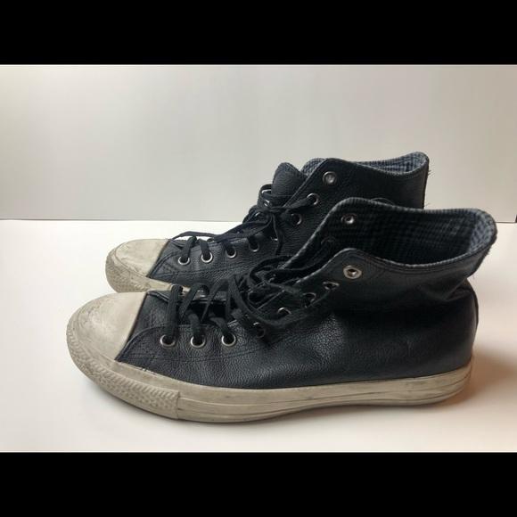 Premium Leather Chuck Taylor Sz 10